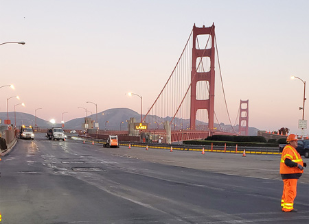 Golden Bridge Maintenance